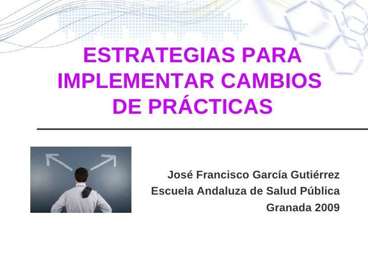 Implementacion Jfgg 2009