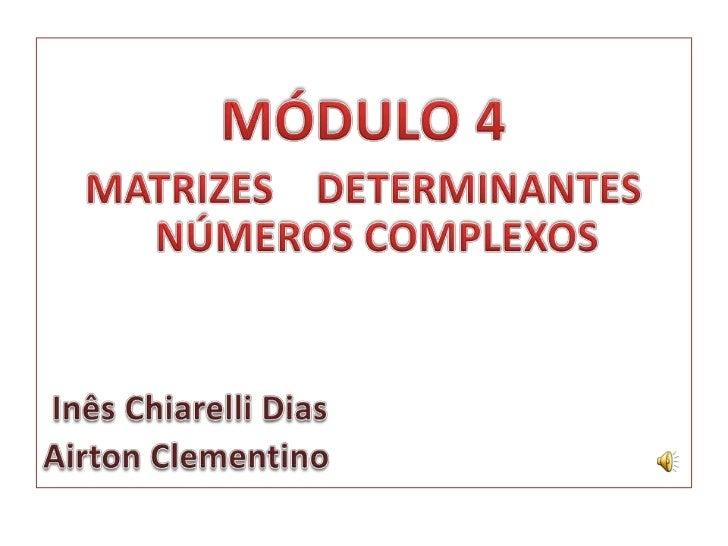 Implementação   mód4 - encontro 1-