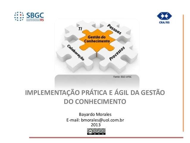 Implementação pratica e ágil da gestao do conhecimento 27 de setembro (3)