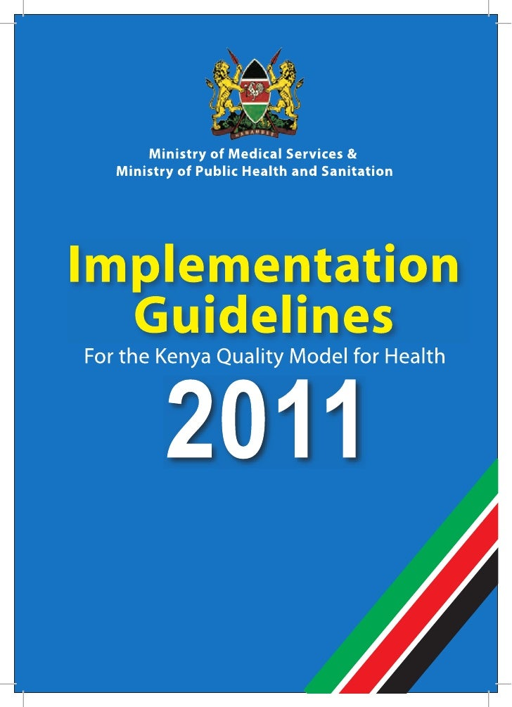 Implementation Guidelines KQMH