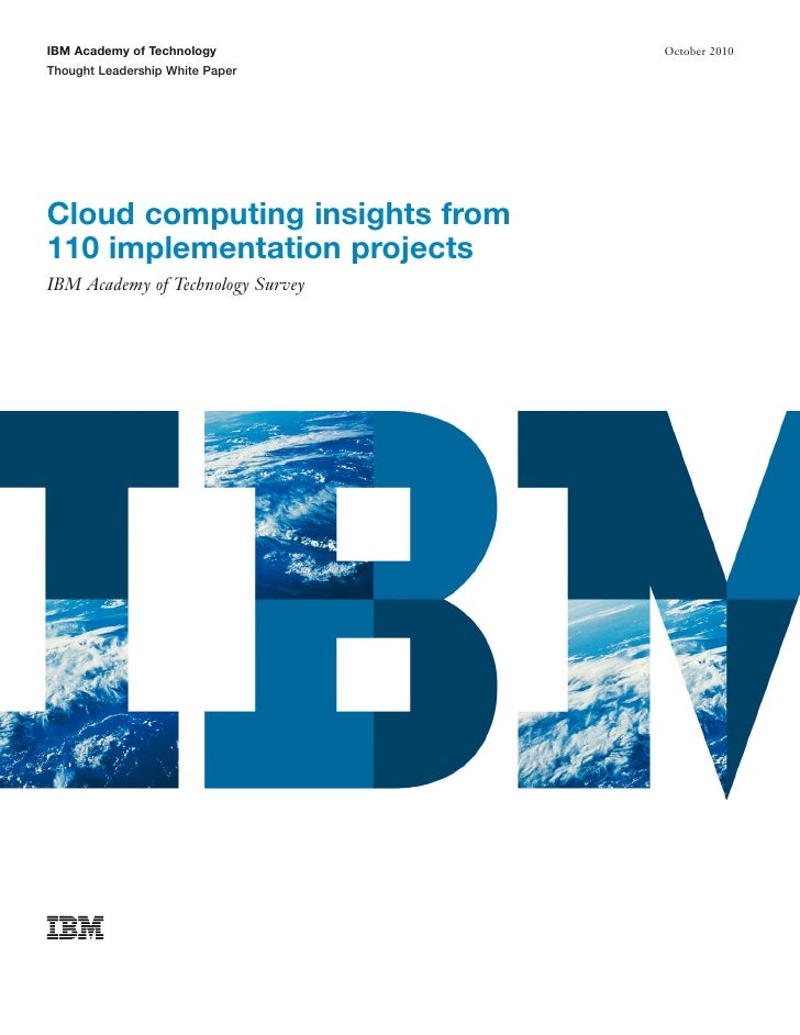 Cloud Insights from 110 Projects