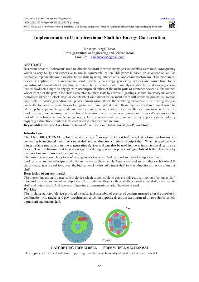 Innovative Systems Design and Engineering www.iiste.orgISSN 2222-1727 (Paper) ISSN 2222-2871 (Online)Vol.4, No.6, 2013 - S...