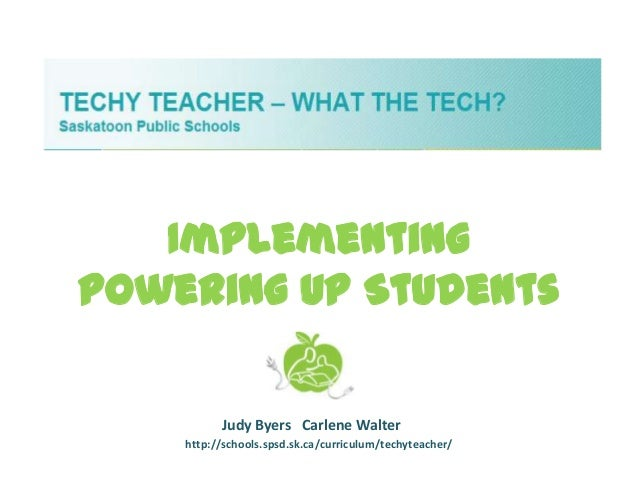 Implementing powering up students