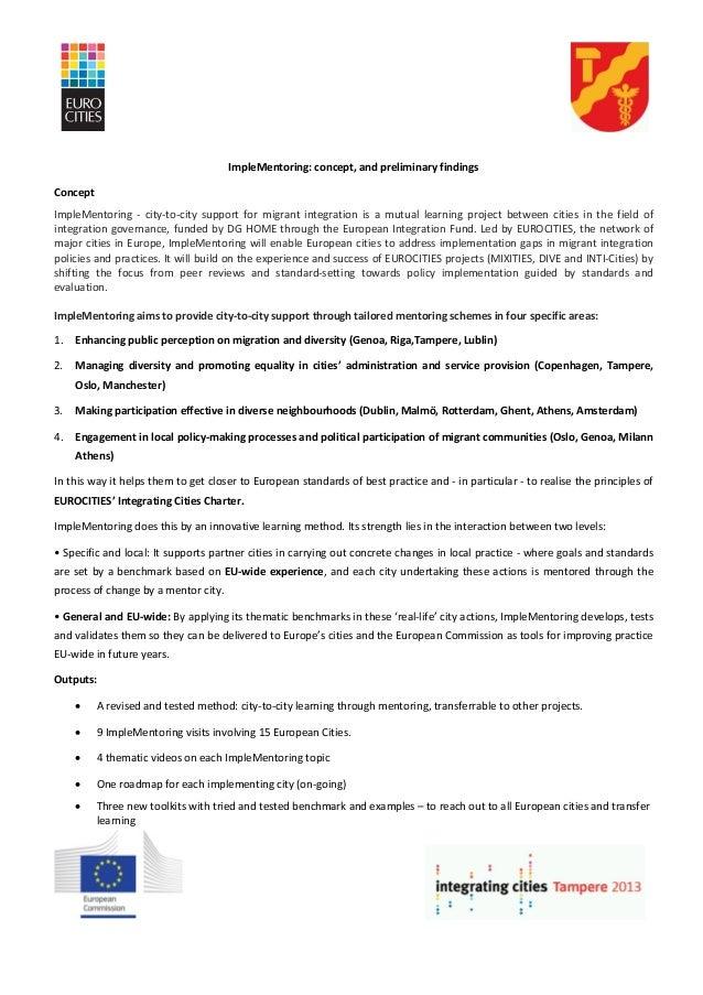 Imple mentoring findings
