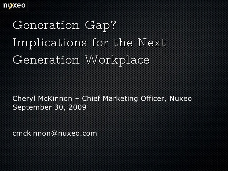 Implications For The Next Generation Office