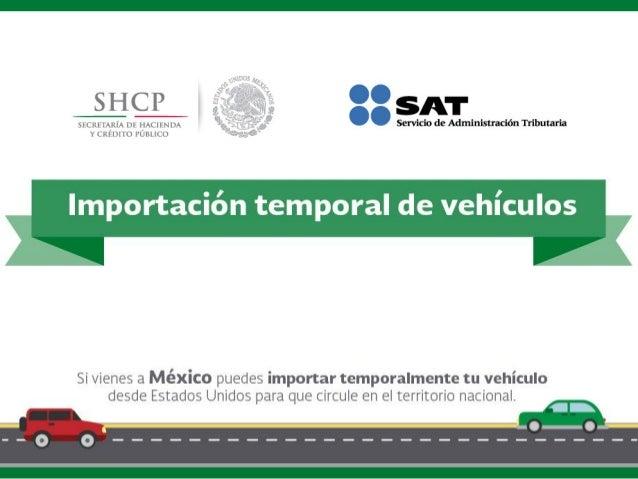 Importación temporal de vehículos