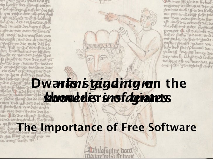 The Importance of Free Software