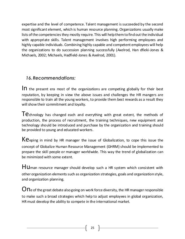 talent management in academia performance systems and hrm policies essay A human resource management framework investment in the organization's internal talent building on the organization's existing talent will support the organization's efforts to plan.