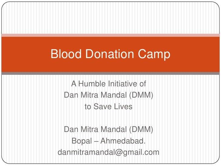Persuasive Essay On Donating Blood