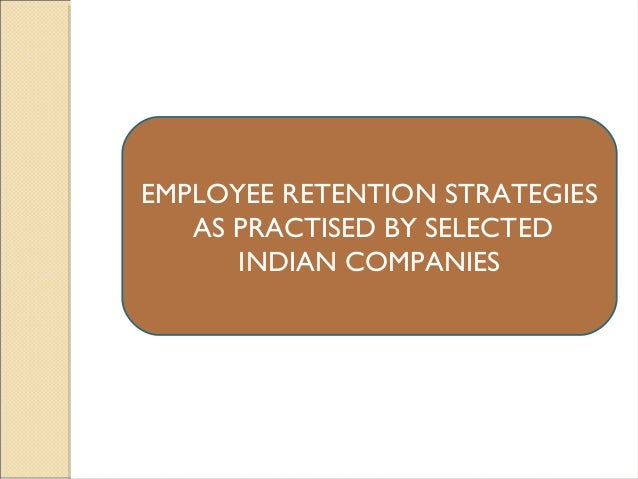 Dissertation Employee Retention Strategies