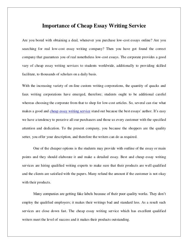Horrible Experience Essay