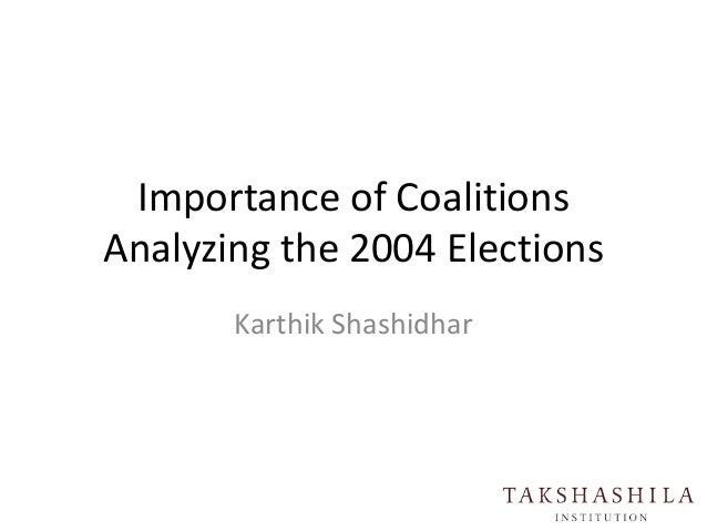 Importance of coalitions