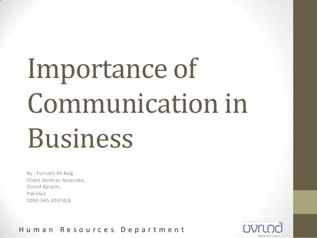 the importance of communication in organizations If you want to provoke a vigorous debate, start a conversation on organizational culture while there is universal agreement that (1) it exists, and (2) that it plays a crucial role in shaping behavior in organizations, there is little consensus on what organizational culture actually is, never mind how it influences behavior and whether.