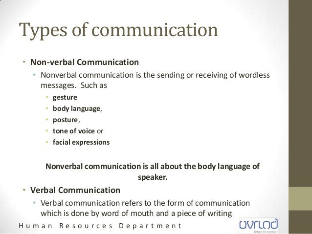 Communication and Writing Skills
