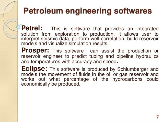 Petroleum Engineering possible majors