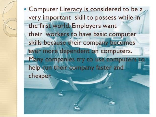 The computer essay