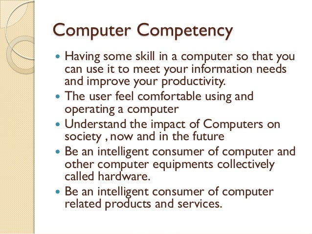 understanding the relevance of computer literacy commerce essay Computer and digital technology and much more else obliviously this is the age of information technology that information technology brought a revolution in the field of media industry also.