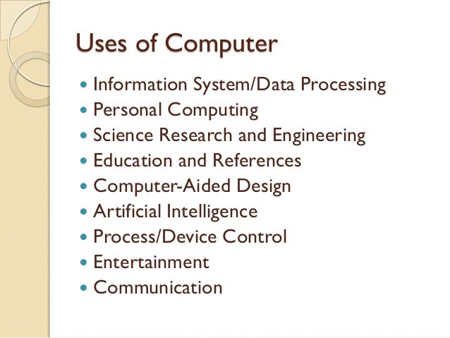 Role of computer in modern age essay