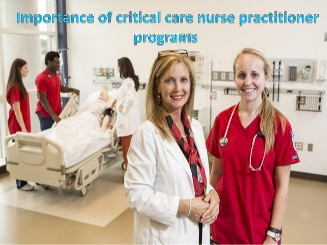 Importance of critical care nurse practitioner programs for Barkley and associates