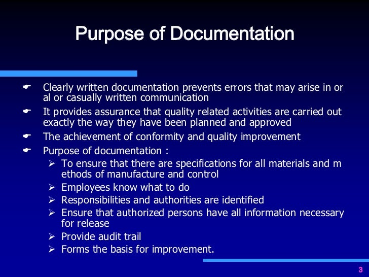 the importance of documentation Consistent documentation: the importance of having a safety net being a leader in an organization is often like being a tightrope artist how so.