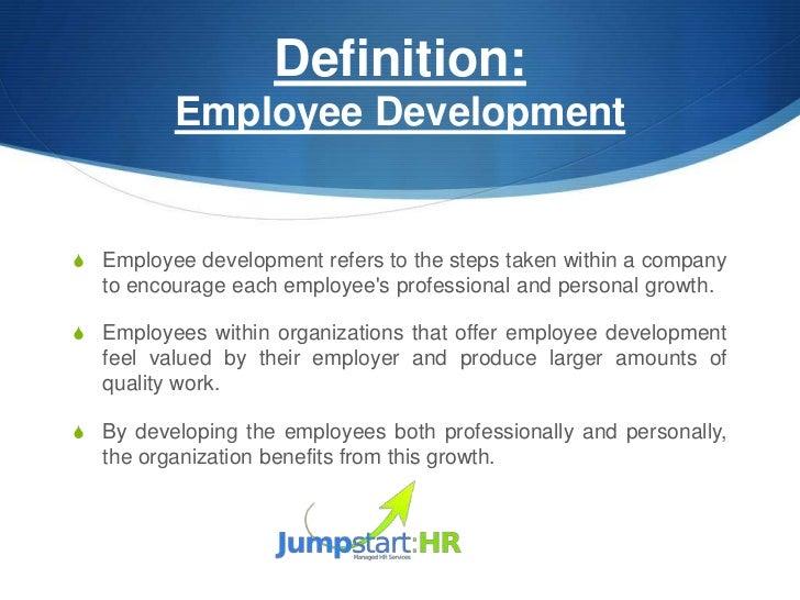 Professional Development Plan – Employee Development Plan