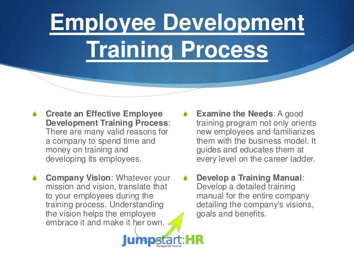 how to develop an organizational training