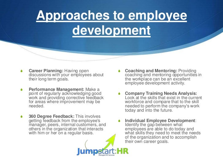 developing a training plan essay Career development plan training essay 1409 words - 6 pages new employees are hired and onboard the one-on-one online training would commence once a person starts working for interclean, but would continue being available throughout an employee's career.