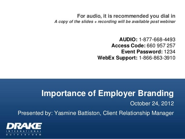 Importance of Employer Branding