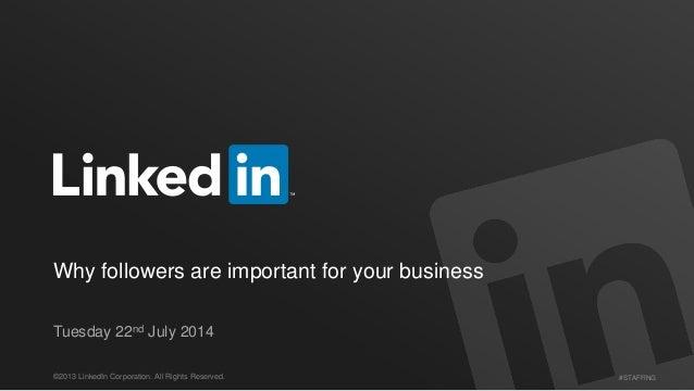 Importance of Followers on LinkedIn
