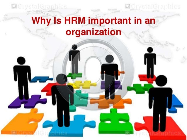 importtance of human resource management