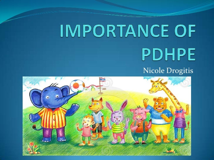 Importance of PDHPE