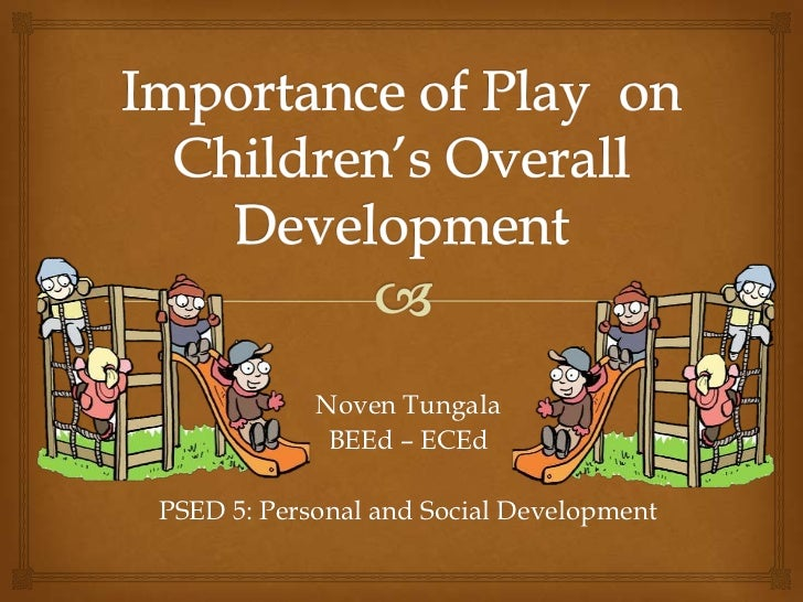 Noven Tungala             BEEd – ECEdPSED 5: Personal and Social Development