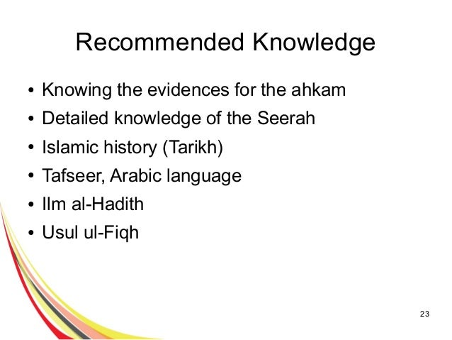 importance of seeking knowledge in islam Gender inequality is a common accusation made against islam and a disparity in   to say human rights activists will seek to find reasons for this disparity  it is  important to note here that the concept of knowledge in islam.