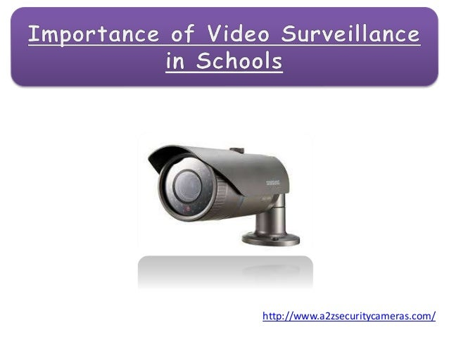 importance of cctv in school Supervision & monitoring – more than 150 cctv cameras are installed at all the  qualified nurse and visiting doctors, separate toilets for class iv employees,.