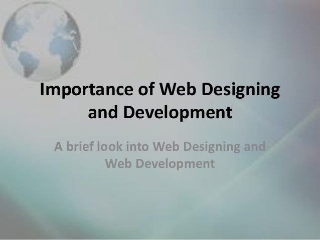 What area of web programming should I look into?