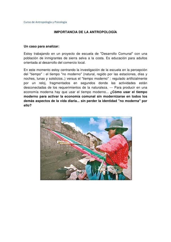 Curso     odeAntropo                ologíayPsico                             ología                           IMPORT...