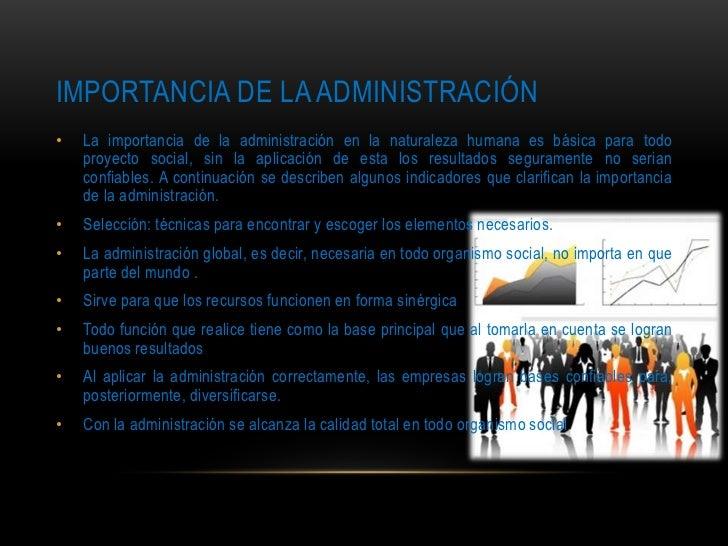 Importancia de la administraci n y utilidad en la vida diaria for Importancia de la oficina