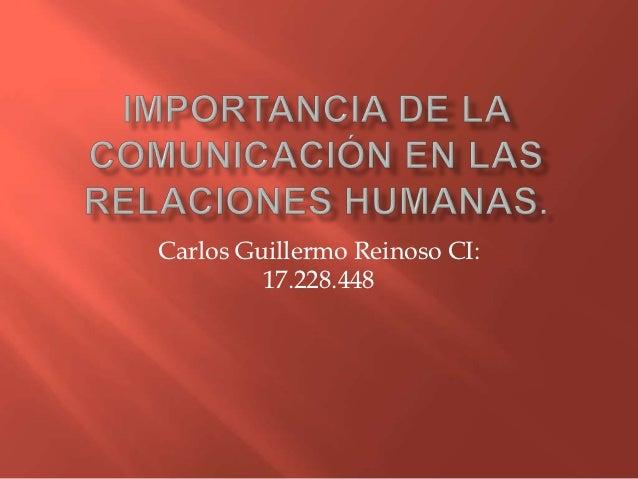 Importancia de la comunicación en las relaciones humanas