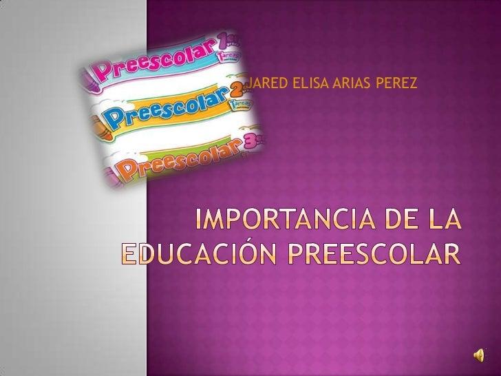 JARED ELISA ARIAS PEREZ