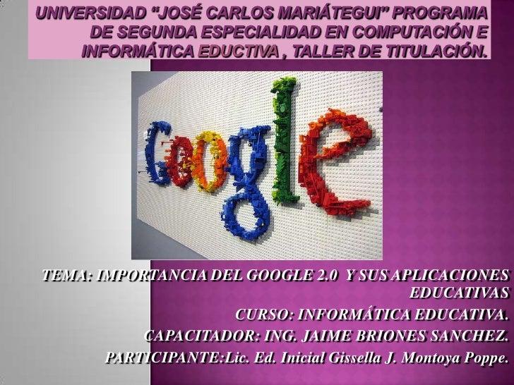 Importancia del google 2