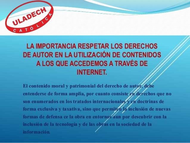Importancia de los derechos de autor en internet