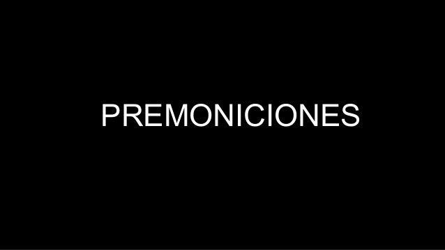 PREMONICIONES