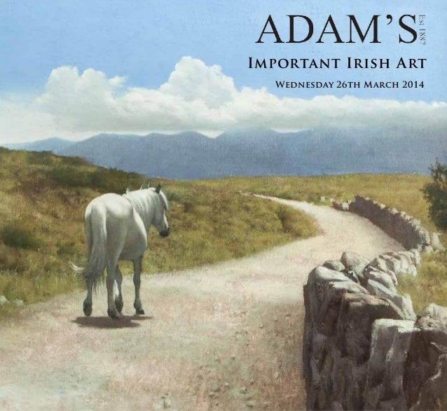 Important Irish Art 26th march 2014