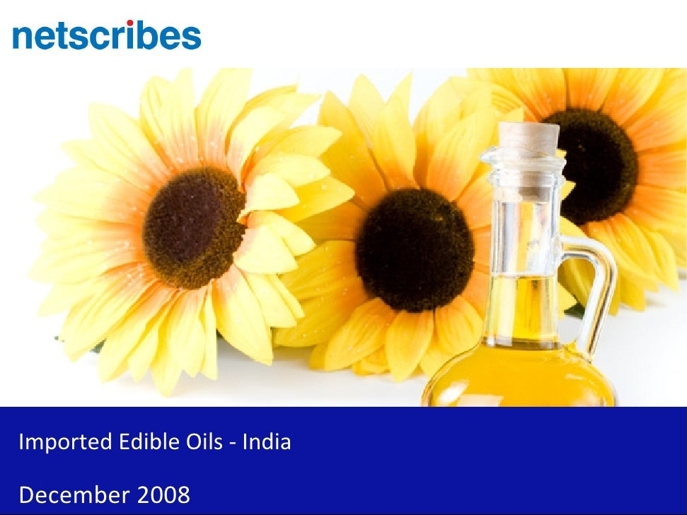 Imported Edible Oils - India  December 2008