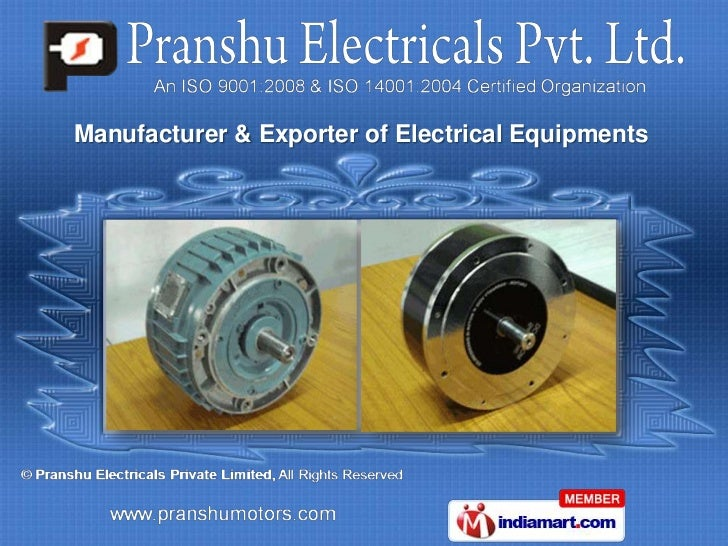 Imported Repairs by Pranshu Electricals Private Limited Aurangabad