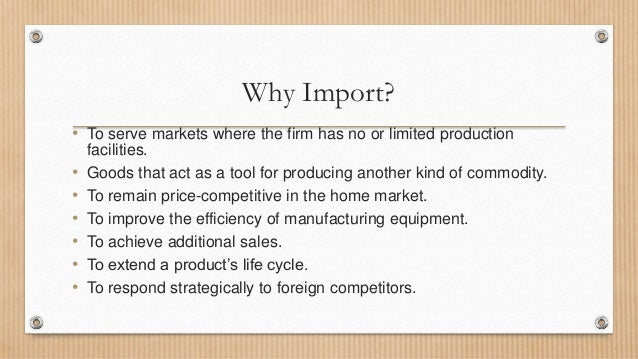 importing a foreign product in bangladesh Non residents can export up to usd 150 in foreign petroleum and petroleum products except naphtha and government of bangladesh for import of food.