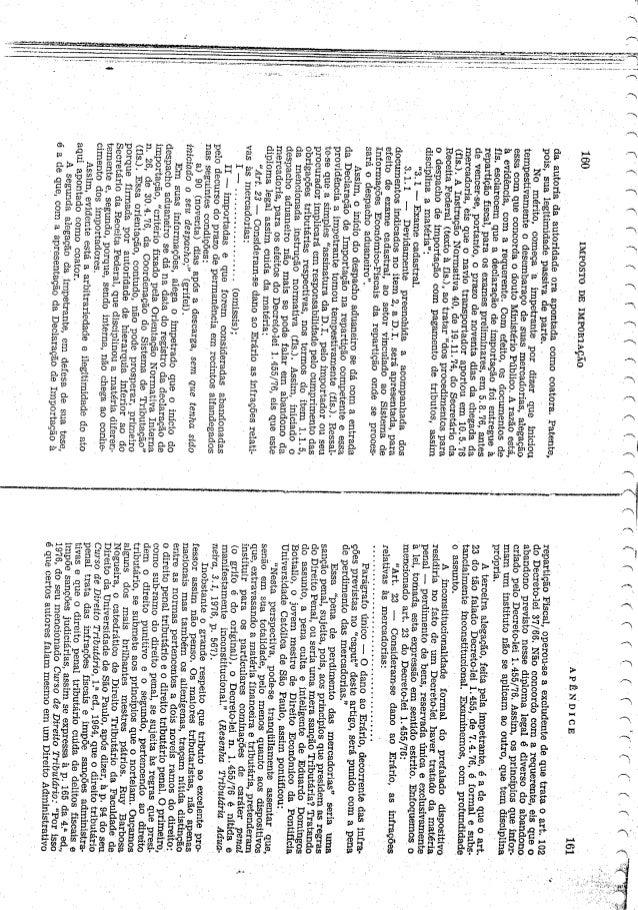 Imposto de importação parte 2
