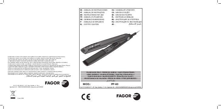 Im pp 60 - Servicio Tecnico Fagor