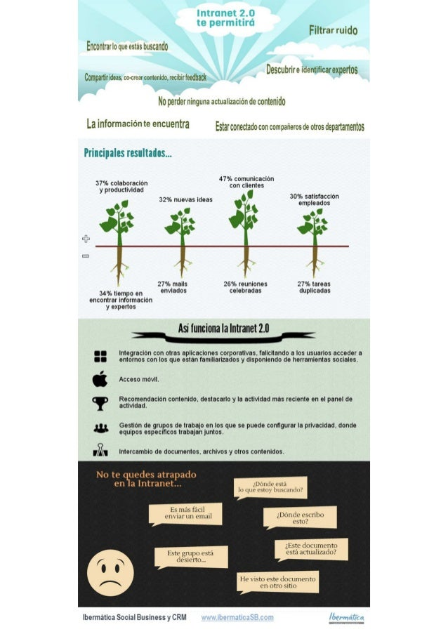 Infografia Intranet 2.0 Social Business
