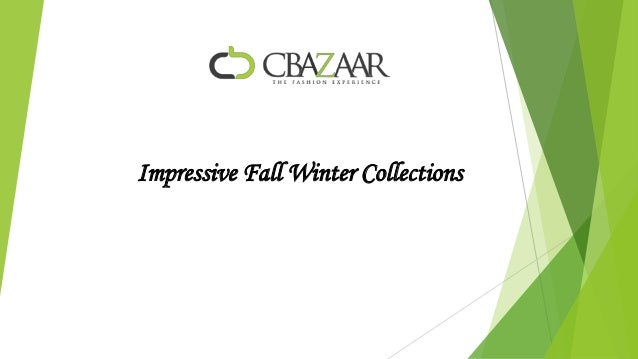 Impressive fall winter collections.
